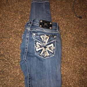 Miss me jeans size 27 L